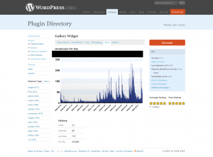 GalleryWidget: 20.000 Downloads