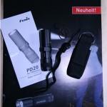 Fenix PD20 - Lieferumfang