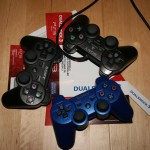 DualShock 3 - Standard (Schwarz) / Metallic Blue (US-Version) / DualShock 2