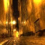 Stockholm: Bilder einer Reise III - Gasse