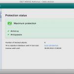 ESET NOD32 Antivirus - beta version