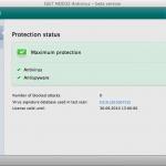 ESET NOD32 Antivirus - beta version