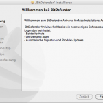 BitDefender Antivirus for Mac - Installation