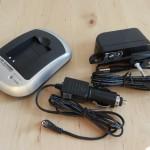 DTC-5101 Ladegerät EN-EL12 inkl. KFZ-Adapter
