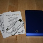 Seagate FreeAgent Go in Blau