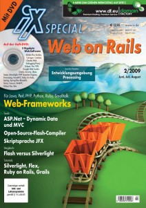 iX Sonderheft: Web on Rails
