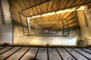 Stockholm: Bilder einer Reise III - Treppenhaus