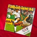 Sammelalbum zur Fußball WM 1986