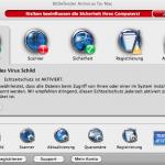 BitDefender Antivirus for Mac - Schaltzentrale