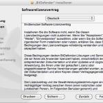 BitDefender Antivirus for Mac - Installation