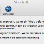 BitDefender Antivirus for Mac - Einstellungen